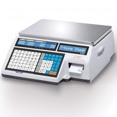 Весы торговые CAS CL 5000J 30IB  с печатью этикеток