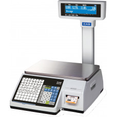 Весы торговые CAS CL 3000 30P с печатью этикеток