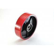 Колесо рулевое полиуретан 180*50*50мм