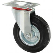 Поворотное колесо с площадкой SC-55 125мм