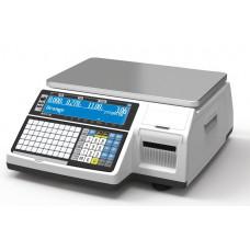 Весы торговые CAS CL3000-30B  с печатью этикеток