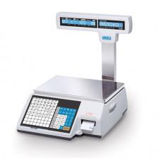 Весы торговые CAS CL 5000J 15IP  с печатью этикеток