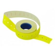 Этикет-лента 21х12 (1000шт/р) желтая