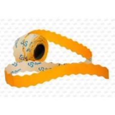 Этикет-лента 26х12 (1000шт/р) оранжевая
